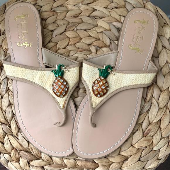 Miss Trish for Target Shoes - Miss Trish for Target Pineapple flip flops size 9